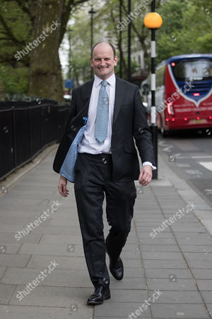 Douglas Carswell MP in Westminster after announcing he will not contest his current seat of Clacton, having quit UKIP previously