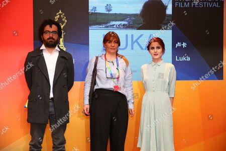 Director Giorgi Barabadze and actress Lia Kapanadze