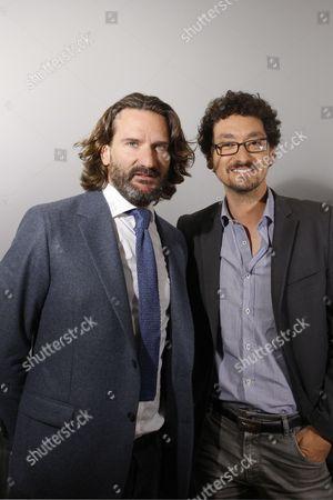Frederic Beigbeder and David Foenkinos