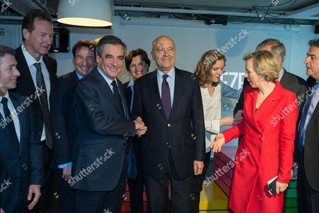 Francois Fillon, Alain Juppe, Nathalie Kosciusko-Morizet, Virginie Calmels, Pierre Lellouche
