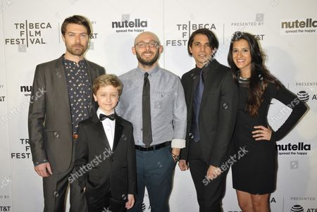 (L-R) Noah Bean, Finn Douglas, Timothy Michael Cooper, Simon Taufique and Surina Jindal