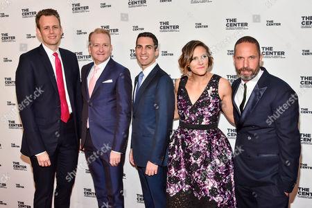 Johann Shudick (L), Brad Jakerman (Middle L), Greg Zaffiro (M), Glennda Testone (middle R), Alexis Bittar (R)