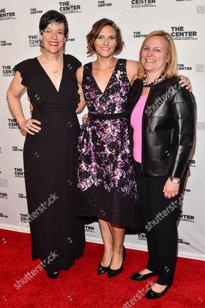 Claire Shanley, Glennda Testone, Julie Harris