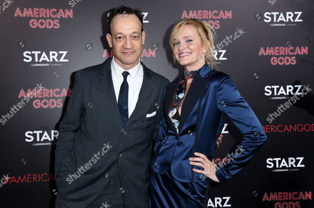 Stock Photo of Ted Raimi and guest