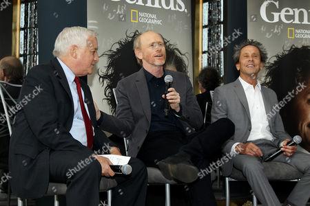 Walter Isaacson, Ron Howard, Brian Grazer