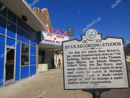 This March 182017 photo shows the Stax Museum of American Soul Music in Memphis, Tenn. The Stax recording studio's roster of stars included Otis Redding, Isaac Hayes and the Staple Singers. It eventually went bankrupt but the museum showcases everything from costumes to cars to walls of hit records