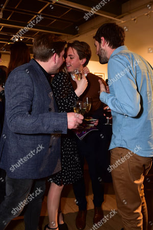 Greg McHugh, Kimberley Nixon, Joe Thomas and Jack Whitehall