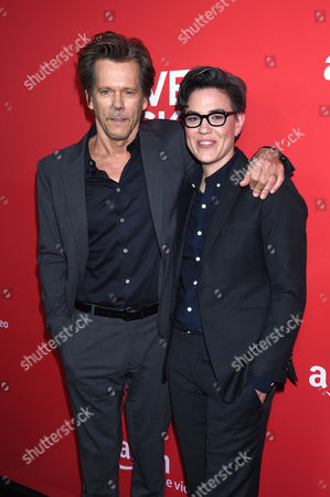 Stock Picture of Kevin Bacon with Sarah Gubbins