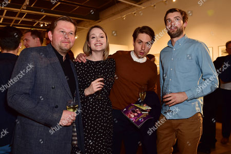 Greg Mchugh, Kimberley Nixon, Joe Thomas and Jack Whitehal