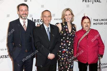 Stock Image of Neil Berkeley, Gilbert Gottfried, Dara Kravitz Gottfried, Arlene Gottfried