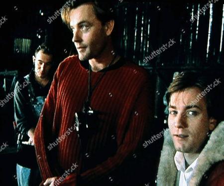 'Killing Priscilla'   TV Stephan Elliot Centre and Ewan Mcgregor on Set.