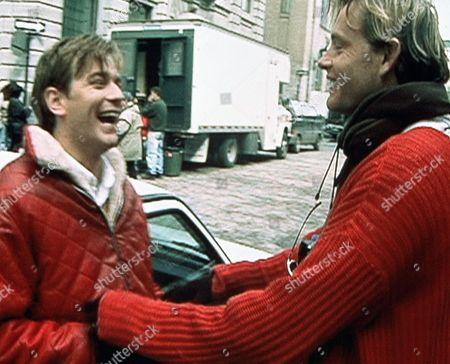 'Killing Priscilla'   TV Stephan Elliot, Right and Ewan Mcgregor Enjoy a Laugh Together.
