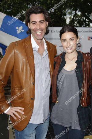 Justin L. Levine  with Samantha Gutstadt