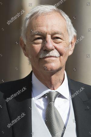Winner of Cervantes Literature Award, Spanish writer Eduardo Mendoza Garriga