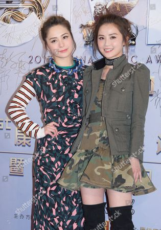 Stock Picture of Twins - Gillian Chung and Charlene Choi