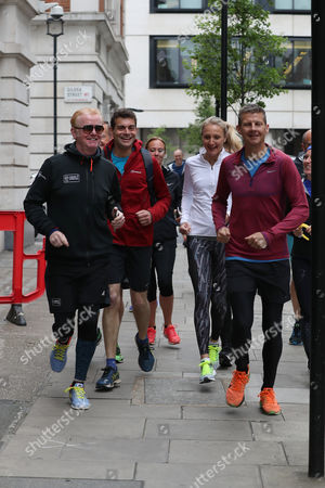 Chris Evans, Paula Radcliffe, Steve Cram