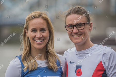 Heather Stanning and Helen Glover - special runners with a #ReasonToRun in the 2017 Virgin Money London Marathon