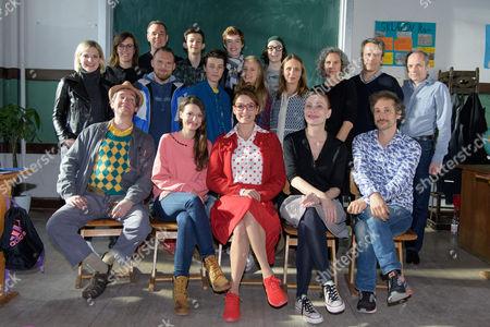Julia Hartmann, Axel Stein, Oskar Keymer, Anja Kling, Andrea Sawatzki, Johannes Zeiler, Cast
