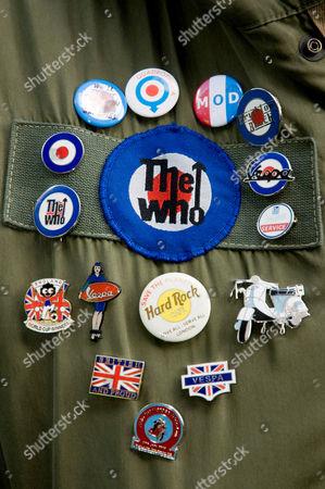 Stock Image of Fan's jacket