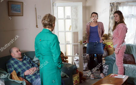 Finding Gina's address on the electoral register, Sally Metcalfe, as played by Sally Dynevor, and Tim Metcalfe, as played by Joe Duttine, pay her visit. Sally's appalled at the state of Gina Seddon's, as played by Connie Hyde, house and when Leah, as played by Molly McGlynn, explains that Gina's bipolar, Sally feels awful and insists they must come and stay with them. (Ep 9161 - Wed 10 May 2017)