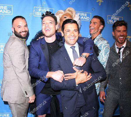 Justin Russo, Jorge Bustillos, Peppermint, Patrick McDonald, Cheyenne Parker, Mark Consuelos