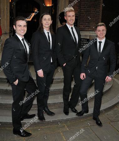 Collabro (Jamie Lambert, Thomas Redgrave, Matt Pagan and Michael Auger)