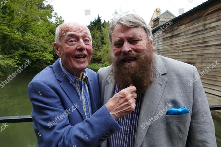 Ray Cooney and Brian Blessed