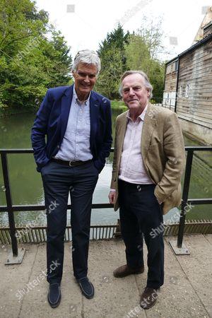 Simon Williams and Eric Carte