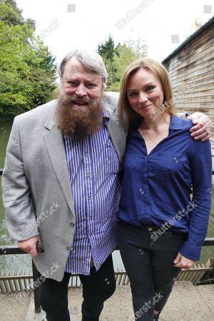 Brian Blessed and Melanie Gutteridge