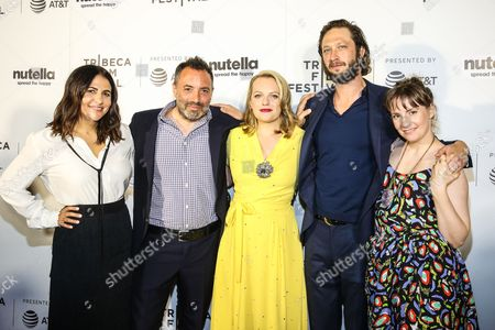 Editorial photo of 'Tokyo Project' screening, Arrivals, Tribeca Film Festival, New York, USA - 22 Apr 2017
