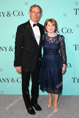 Editorial picture of Tiffany & Co. celebrates the 2017 Blue Book Collection, Arrivals, St. Ann's Warehouse, New York, USA - 21 Apr 2017