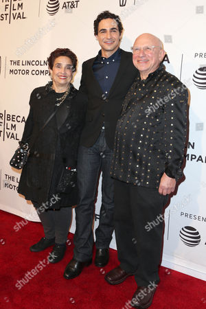 Susan Posen, Zac Posen and Stephen Posen