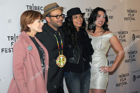 Frances Fisher, Josh Fox, Rosario Dawson