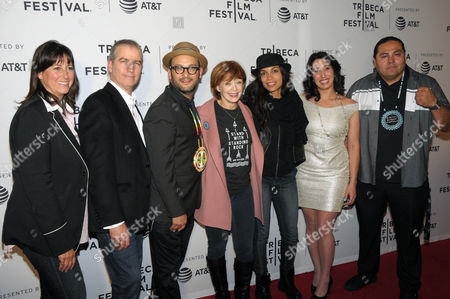 James Spione, Josh Fox, Frances Fisher, Rosario Dawson, Myron Dewey