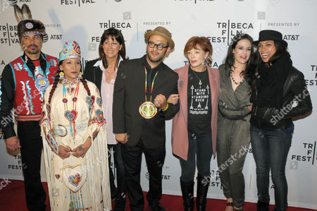 Editorial image of 'Awake: A Dream from Standing Rock' screening, Arrivals, Tribeca Film Festival, New York, USA - 22 Apr 2017