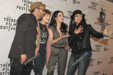 Editorial picture of 'Awake: A Dream from Standing Rock' screening, Arrivals, Tribeca Film Festival, New York, USA - 22 Apr 2017