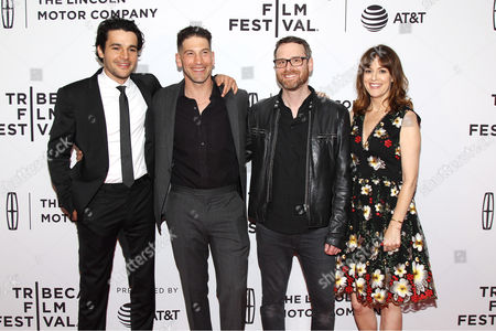 Editorial picture of Tribeca Film Festival World Premiere of Sweet Virginia, New York, USA - 21 Apr 2017