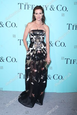 Editorial image of Tiffany & Co. celebrates the 2017 Blue Book Collection, Arrivals, St. Ann's Warehouse, New York, USA - 21 Apr 2017