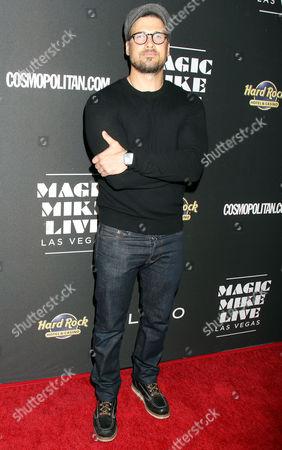 Editorial image of 'Magic Mike Live Las Vegas' Opening Night, Hard Rock Hotel & Casino Las Vegas, USA - 21 Apr 2017
