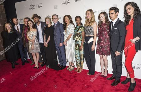 Editorial picture of 'The Handmaid's Tale' TV Show screening, Arrivals, Tribeca Film Festival, New York, USA - 21 Apr 2017