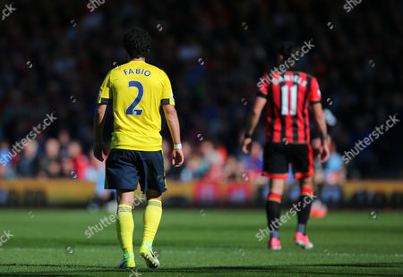 Fabio Da Silva of Middlesbrough   during the Premier League match between Bournemouth and  Middlesbrough  played at Vitality Stadium  , Bournemouth    on 22nd April  2017