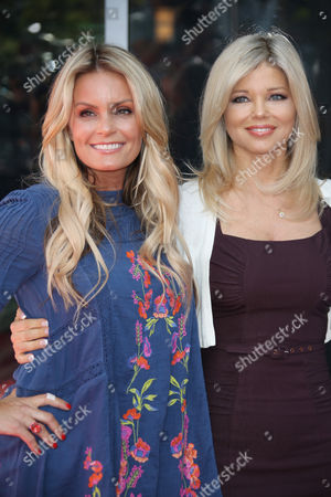 Kelly Packard and Donna D'Errico