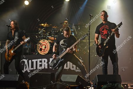 Editorial picture of Alter Bridge in concert at Revolution, Fort Lauderdale, USA - 21 Apr 2017