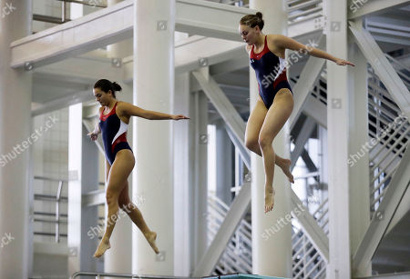 Alison Gibson, Kassidy Cook Alison Gibson, right, and Kassidy Cook prepare to jump off the 3-meter springboard during the U.S. Diving Synchronized National Championships at Georgia Tech in Atlanta,. Synchro diving has become a huge emphasis for the U.S., contributing heavily to its renewed success at the last two Olympics