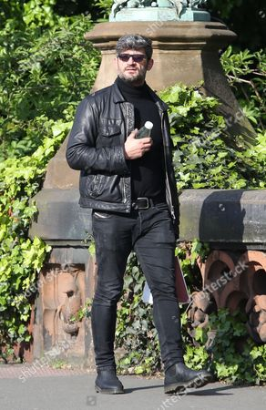 Editorial image of Fadi Fawaz out and about, Camden, UK - 22 Apr 2017