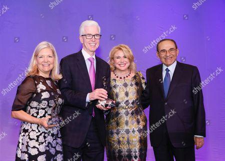 Sharon Davis, Gray Davis, Ghada Irani and Ray Irani