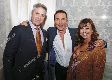 Mark L. Walberg, Bruno Tonioli and Robbi Walberg