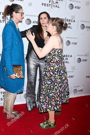 Jenna Lyons, Laurie Simmons and Lena Dunham