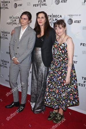 Grace Dunham, Laurie Simmons and Lena Dunham