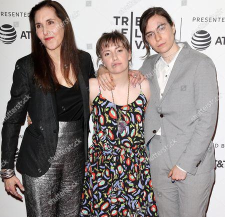 Laurie Simmons, Lena Dunham and Grace Dunham